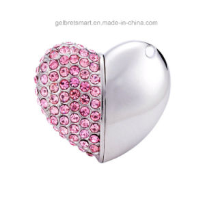 Best Price 4GB Jewelry Heart USB Flash Drive for Promotion pictures & photos