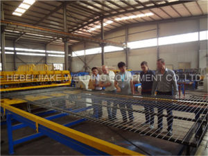 Steel Fence Welded Wire Mesh Machine for Construction pictures & photos