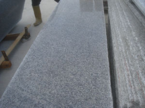 640 Grey White Kitchen Granite Countertop Slabs (640 slabs) pictures & photos