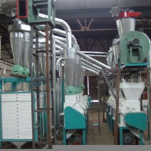 Maize Flour Mill Machinery for Uganda pictures & photos
