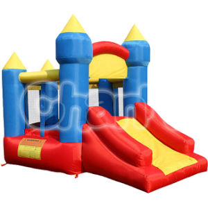 Colorful Magic Nylon Inflatable Castle Bounce House for Home Use pictures & photos