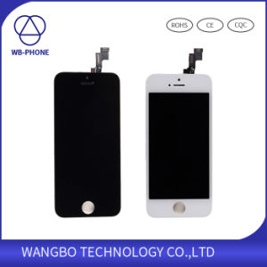 LCD for iPhone 5s Screen Digitizer Includes Camera, Earpiece, Sensor pictures & photos