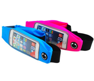 Touchscreen Double Pockets Sport Running Belt pictures & photos