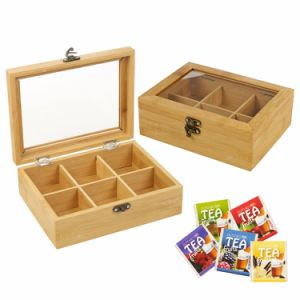 Custom Bamboo Wooden Tea Packing Box Storage Box Wholesale pictures & photos