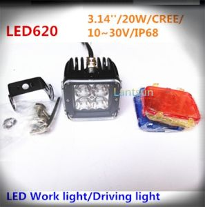 LED Work Light Spot Light for SUV Offroad Jeep pictures & photos