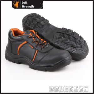 Low Cut Genuine Leather Safety Shoe with Steel Toe (SN5258) pictures & photos