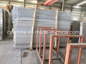 Chinese Crystal Wood Marble Tile for Wall and Floor