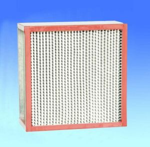 High Temperature 250c Resistant HEPA Air Filter for Air Purifier Equipment pictures & photos