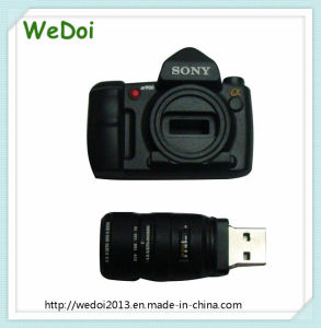 Customized Camera PVC Pen Drive USB Flash Drive (WY-PV30) pictures & photos