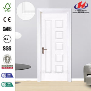 Smooth Hollow Core White Prime Wood Door pictures & photos