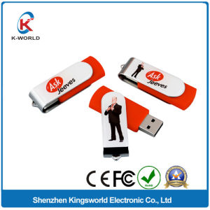 Free Sample High Quality 1/2/4/8GB Metal Swivel USB pictures & photos