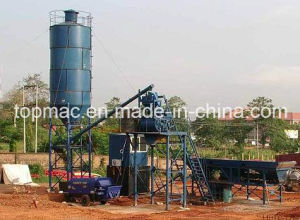 Concrete Batching Plant in Nigeria Construction Site pictures & photos