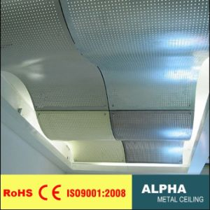 Aluminum Wide Solid Panel Indoor Customed Non-Standard Aluminum Ceilings pictures & photos