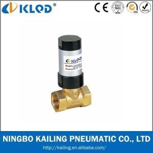 Single Action Two-Way Pneumatic Piston and Liquid Solenoid Valve pictures & photos