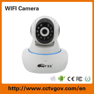 Wireless Indoor Mini Dome WiFi IR PTZ CCTV IP Security Camera pictures & photos