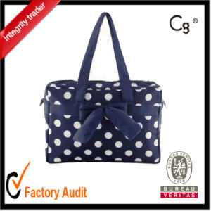 Fashion Cotton DOT Printing Mom Mommy Bags for Promotion pictures & photos