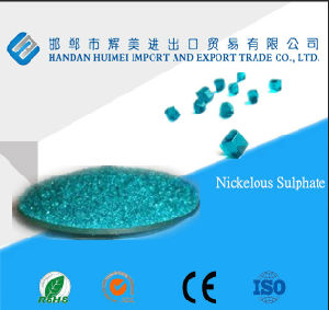 High Purity Nickel Sulphate Hexahydrate Niso4.6H2O pictures & photos