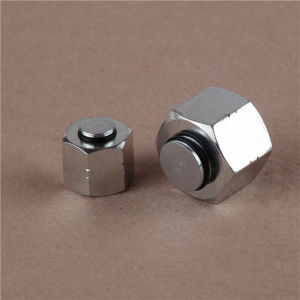Carbon Steel Orfs Female Flat Adapter pictures & photos