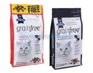 Slider Zipper Pet Food Packaging Bag pictures & photos