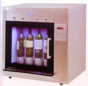 4 Bottles Wine Cooler/Wine Dispenser/Wine Chiller/Wine Cellar/Wine Cabinet (ISC-4) pictures & photos