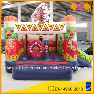 Indian Combo Inflatable Bounce Castle (AQ647-4) pictures & photos