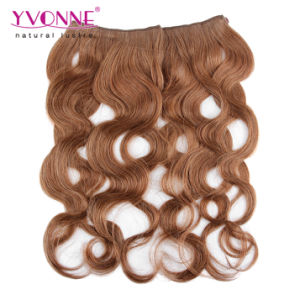Color #10 Body Wave Brazilian Flip in Hair Extension pictures & photos