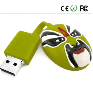 Sichuan Opera Design China Peking Opera Make-UPS USB Flash Drive pictures & photos