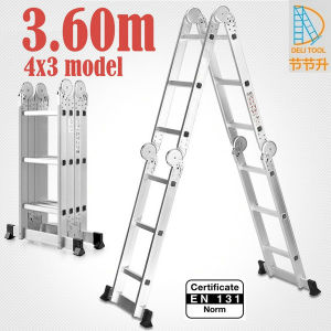 4X3 Multi-Function Ladder Big Hinge 3.6m pictures & photos