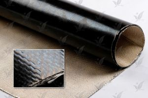 Fluorous Rubber Compound Fiberglass Cloth pictures & photos