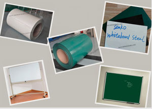 High Quality Prepainted Whiteboard Steel From Senko pictures & photos