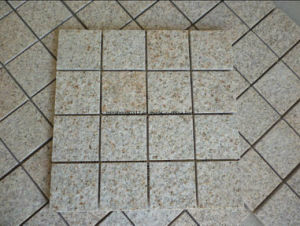 Rusty Yellow G682 Beige Granite Paving Cube Stone pictures & photos