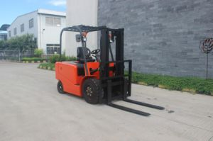 4-Wheel Battery Forklift Truck pictures & photos