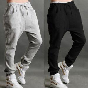 Best Selling Fashionable Men′s Harem Sweat Pants pictures & photos
