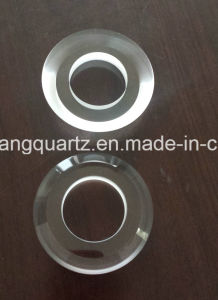 Customized Transparent Quartz Ring with Slope Polished pictures & photos