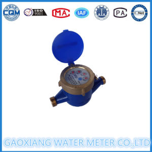 Multi Jet Domestic Mechanical Water Meter pictures & photos
