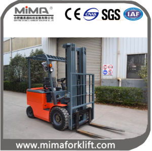 2016 Good Qualited Electric Forklift Truck with 2000kgs Loading Capacity pictures & photos