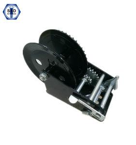 Boat Trailer Hand Winch Black Powder Coating 1500lbs pictures & photos