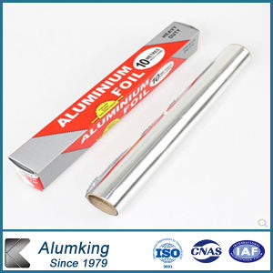 0.006mm Thickness Household Aluminum Foil for Food Packaging pictures & photos