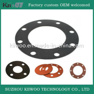 Factory Direct Sell High Quality Silicone Rubber Flange Gasket pictures & photos