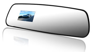Rearview Mirror Camera Car DVR Recorder with GPS Logger
