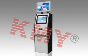 Self Service Multi Function Touchscreen Kiosk with Barcode Scanner and Thermal Receipt Printer pictures & photos