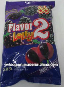 Two Fruit Flavors Mixed Good Taste Lollipop Candy pictures & photos