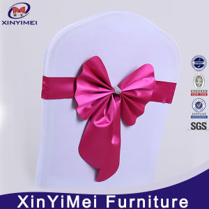 Hot Selling Wholesale Colorful Satin Fabric Wedding Used Chair Sashes pictures & photos