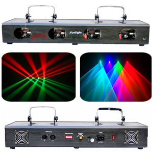 Guangzhou Popular Disco Laser Four Head Red&Green/ Four-Color Beam Laser Light pictures & photos