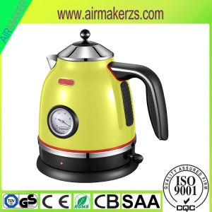 Luxury Design Cordless Stainless Steel Electric Kettle pictures & photos