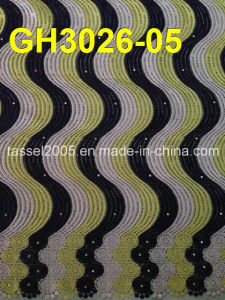 High Quality Multi Color Cord Lace (GH3026-04) pictures & photos