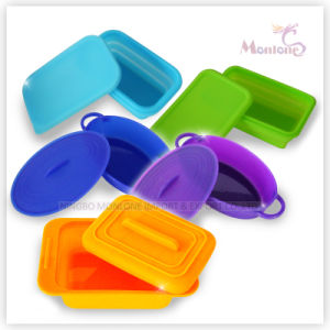 Collapsible Food Container, Foldable Silicone Lunch Box pictures & photos