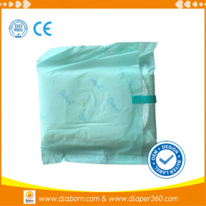 Environment Friendly Degradable Certified   Organic Cotton Sanitary Napkin pictures & photos