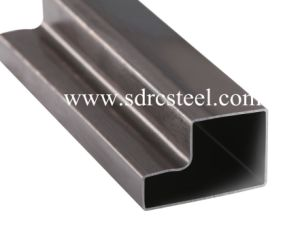 Customized Special-Shaped Black Annealed Tube pictures & photos
