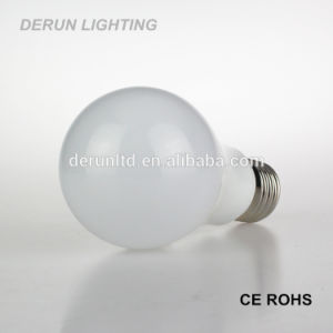Pear Shape A60 E27 B22 Standard Plastic Aluminum 270 Degree Epistar SMD2835 9W LED Bulb pictures & photos